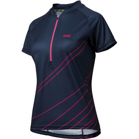 IXS Trail 6.2 Jersey Women night blue/pink